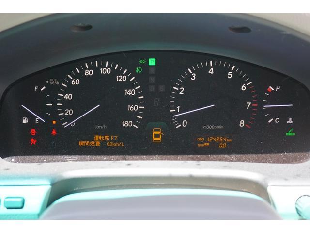 トヨタ セルシオ C仕様 純正エアロ・本革シート・サンルーフ・20インチAW