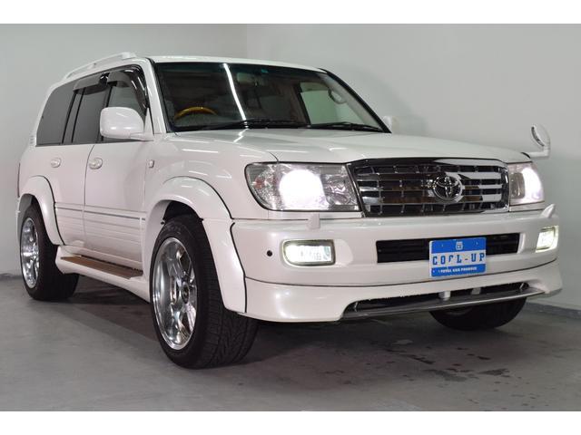 「トヨタ」「ランドクルーザー100」「SUV・クロカン」「北海道」の中古車3