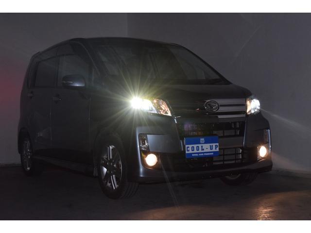カスタム RS インタークーラーターボ・4WD・イクリプスSDナビナビテレビ・LEDヘッドライト・横滑り防止装置・アイドリングストップ・スマートキー・プッシュスタート・ワンオーナー・本州仕入(2枚目)