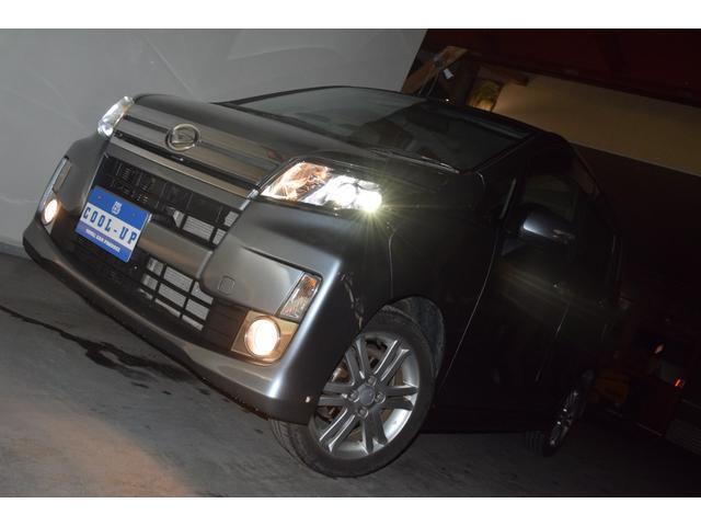 カスタム RS インタークーラーターボ・4WD・イクリプスSDナビナビテレビ・LEDヘッドライト・横滑り防止装置・アイドリングストップ・スマートキー・プッシュスタート・ワンオーナー・本州仕入(8枚目)