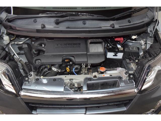 カスタム RS インタークーラーターボ・4WD・イクリプスSDナビナビテレビ・LEDヘッドライト・横滑り防止装置・アイドリングストップ・スマートキー・プッシュスタート・ワンオーナー・本州仕入(31枚目)