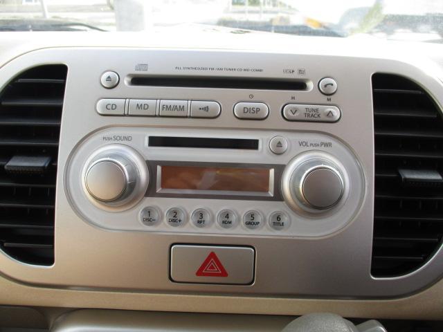 日産 モコ E FOUR 4WD インテリジェントキー 純正CDデッキ