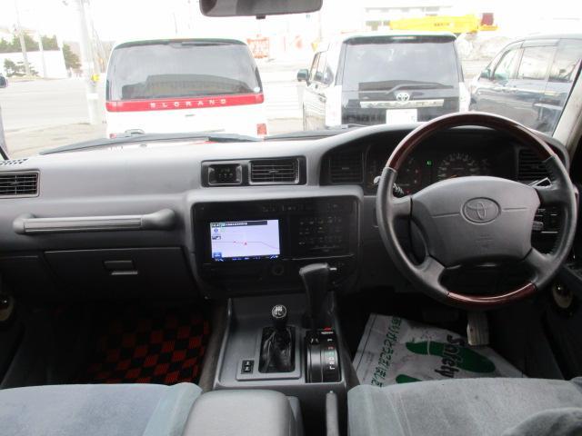 VXリミテッド 4WD リフトアップ 社外メモリーナビ(10枚目)