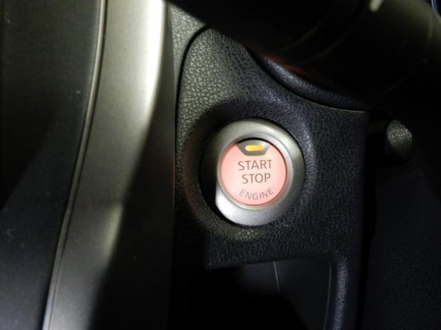 エンジンスタートはプッシュ式です。