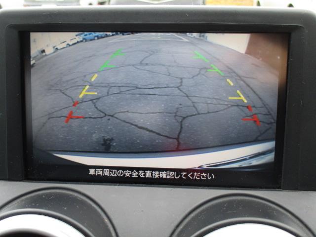 バックカメラ付きで、駐車時に便利です!