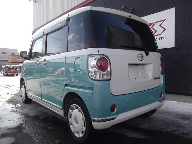 ダイハツ ムーヴキャンバス Xリミテッドメイクアップ SAII  4WD グー鑑定書付