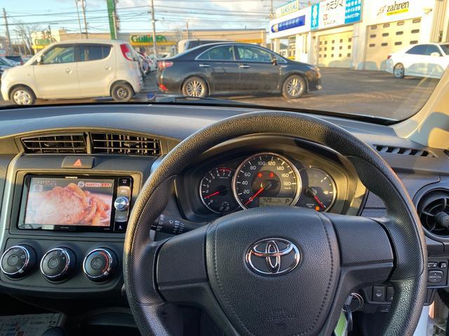 1.5X トヨタセーフティセンス フロントワイパー熱線 キーレス 社外ナビ ワンセグTV CD DVD Bluetooth ETC 冬タイヤ純正スチール(9枚目)