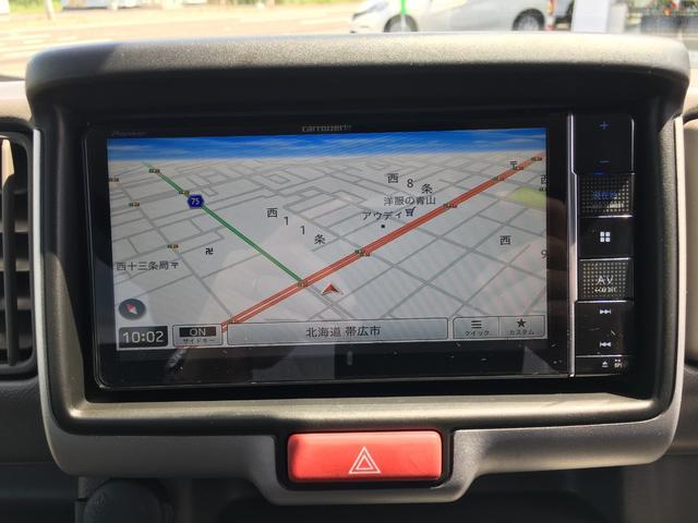 GXターボ ちょいキャン 4WD エマージェンシーブレーキ パーキングソナー 社外エンジンスターター 社外ナビ フルセグTV バックカメラ CD DVD Bluetooth 冬タイヤ純正スチール(12枚目)