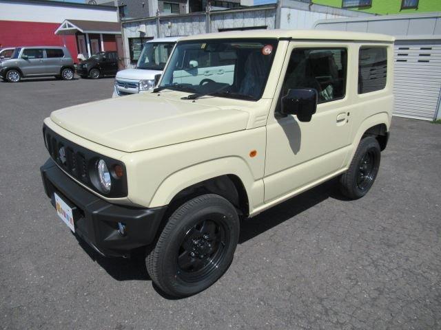 XL セーフティサポート 届出済未使用車 MT車 4WD フロアマット付 ABS スマートキー(5枚目)