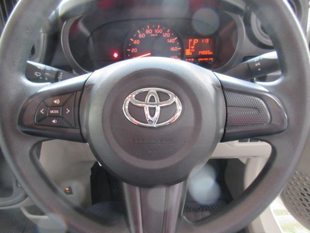 ハンドルにはスイッチ付きですのでドライバーは運転に集中できます♪