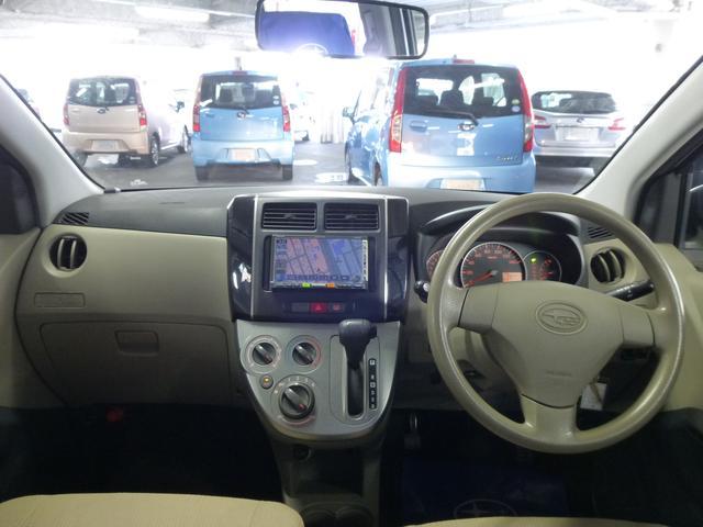 スバル プレオ L バックカメラ ワンオーナー 4WD