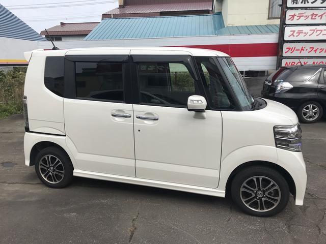 「ホンダ」「N-BOXカスタム」「コンパクトカー」「北海道」の中古車7