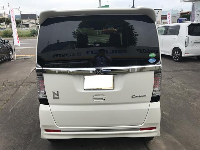 「ホンダ」「N-BOXカスタム」「コンパクトカー」「北海道」の中古車9