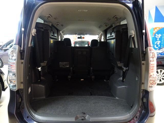 X 4WD 純正ナビ フルセグTV 寒冷地仕様 ETC 社外アルミ フォグランプ 8人乗り 禁煙車(28枚目)