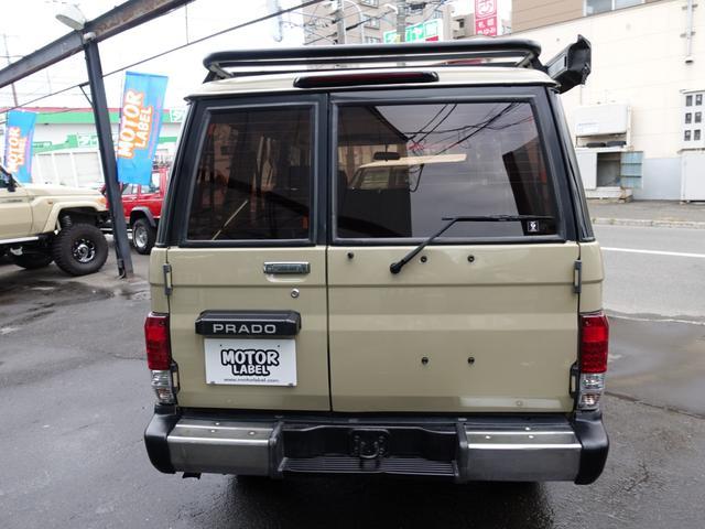 トヨタ ランドクルーザープラド SXワイド アウトドアパッケージ オーニング ルーフラック