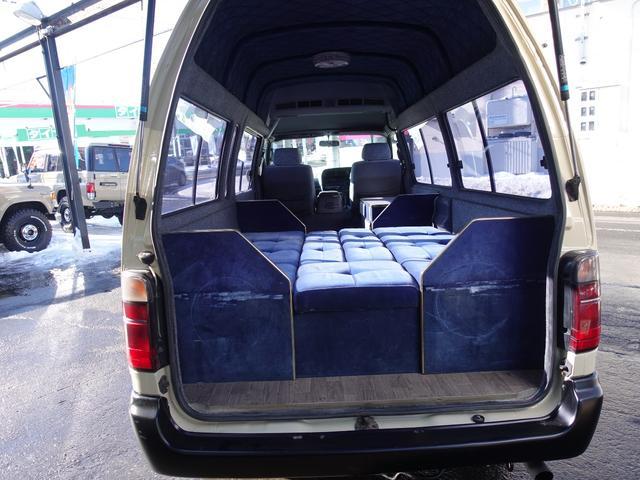 トヨタ ハイエースバン キャンピングカー 4WD 8名乗車 アウトドアパッケージ