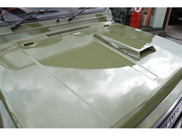 HC RETROSTYLE 全塗装仕上 リフトUP 新品タニグチシャックル 前後新品スチールバンパー 新品ジオランダーマッドタイヤ デイトナスチールホイール 新品レザーシートカバー 新品マフラー 1型グリル(7枚目)