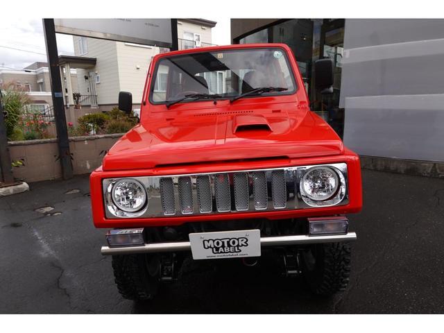 ワイルドウインドリミテッド 全塗装仕上げ リフトアップ公認 新品ジオランダーMT 前後ステンレスパイプバンパー レザー調シートカバー レザー調ドアトリム ウッドステアリング サンマル風メッキグリル(7枚目)