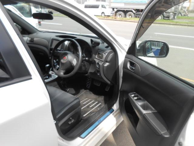 スバル インプレッサ WRX STI Aライン 4WD 社外HDDナビ 寒冷地仕様