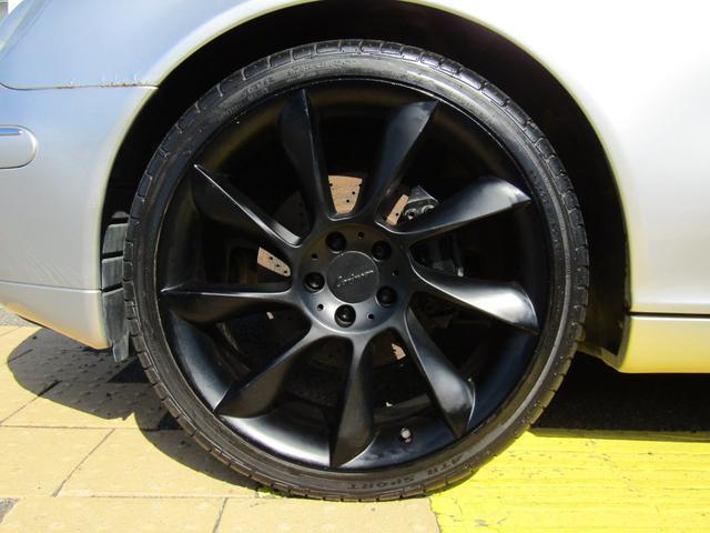 S320 黒革シート 19インチAW(10枚目)