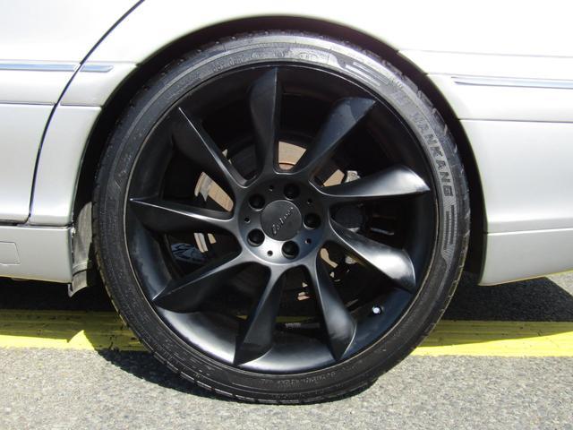 メルセデス・ベンツ M・ベンツ S320 黒革シート 19インチAW