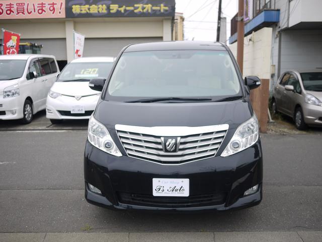 トヨタ アルファード 240G 4WD グー鑑定書付