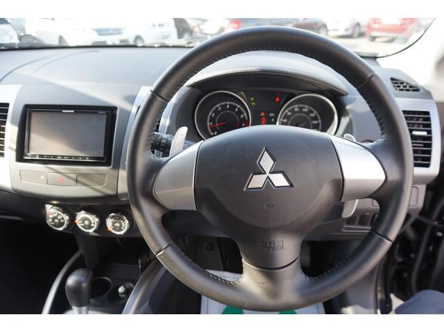 三菱 アウトランダー ローデスト24G 4WD ワンオーナーSDナビTV