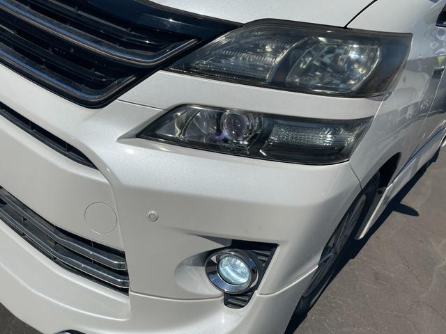 ZR 4WD ワンオーナー スマートキー SDナビTV バックカメラ モデリスタエアロ リアモニター パワーシート ETC HID(15枚目)