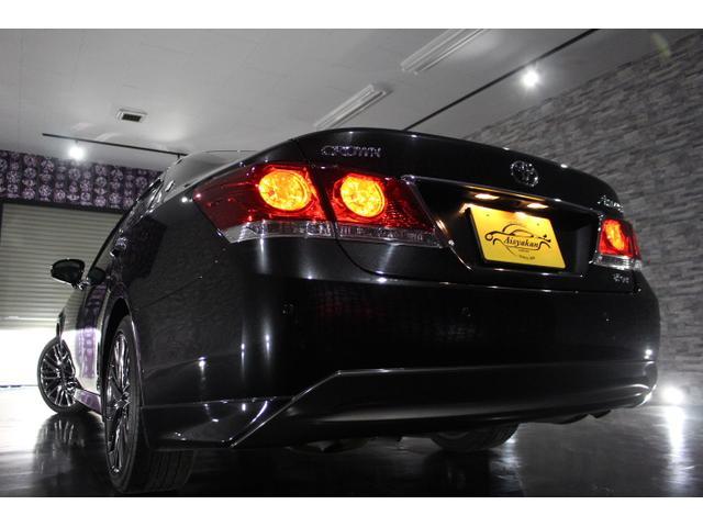 トヨタ クラウン アスリートGi-Four 黒革 ナビTV 4WD 1オーナー