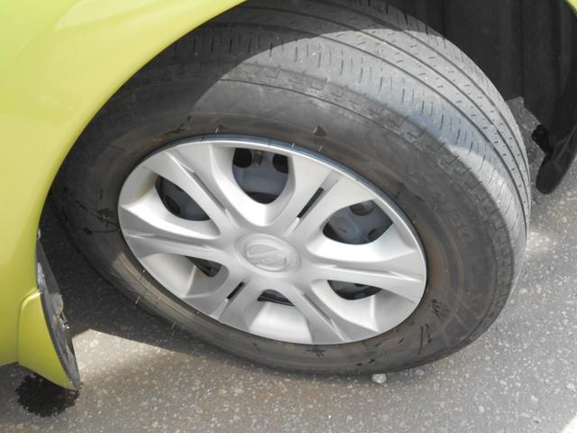 夏タイヤには純正ホイールカバー+スチールホイール (タイヤの残り溝は少ないので御相談下さい。)