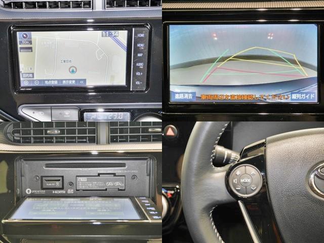 クロスオーバー グラム フルセグ Bカメ メモリーナビ ETC スマートキ- ドラレコ 衝突被害軽減装置 1オナ 盗難防止システム ABS(9枚目)