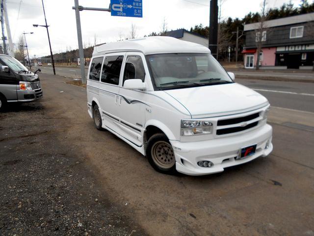 GMC GMC サファリ AWD 本革ロイヤルエクシード 1ナンバー マフラー HID