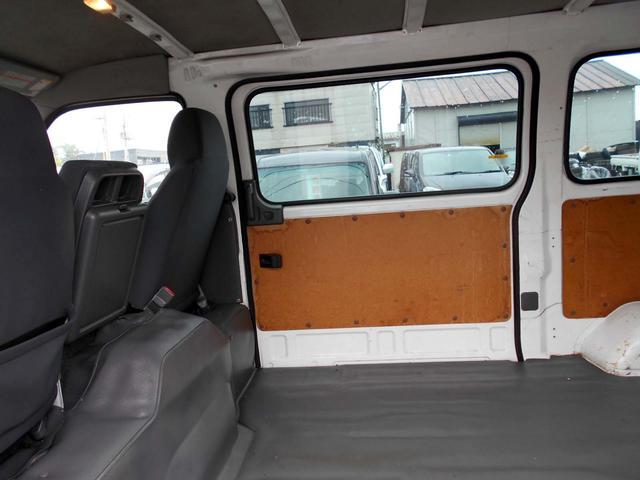 日産 キャラバン 4WD 3.0Dターボ ロングDX 両側スライド 1オーナー