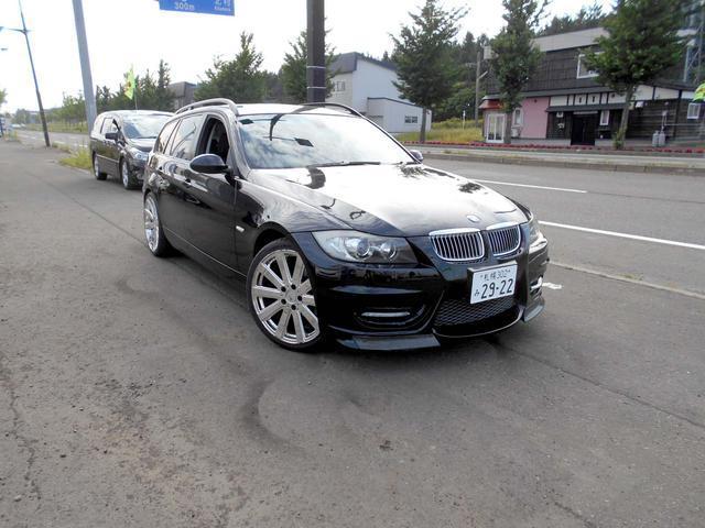 BMW BMW 320iツーリング ハイライン 黒革 エアロ 19AW
