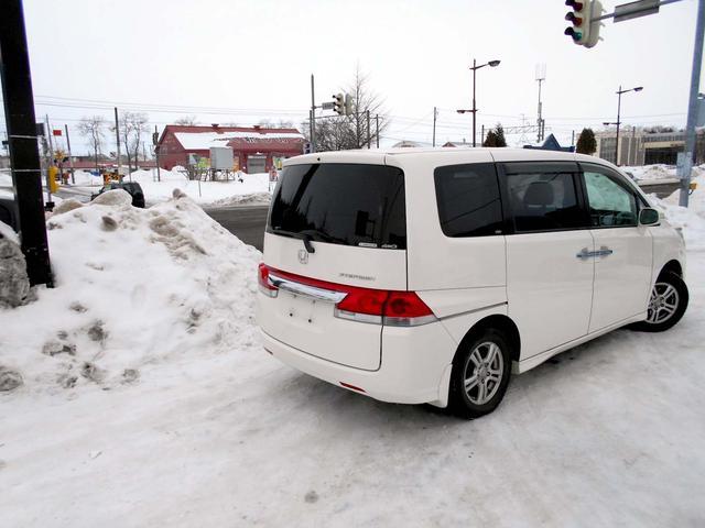 ホンダ ステップワゴン 4WD 2.0G 両側電動 ナビ バックカメラ 夏冬タイヤ付