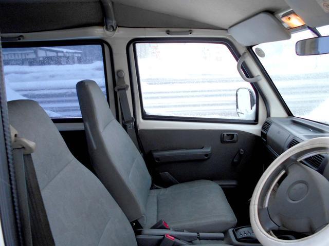 三菱 ミニキャブバン 4WD CDスモーク張り 夏冬タイヤ付 エンスタ タイベル済
