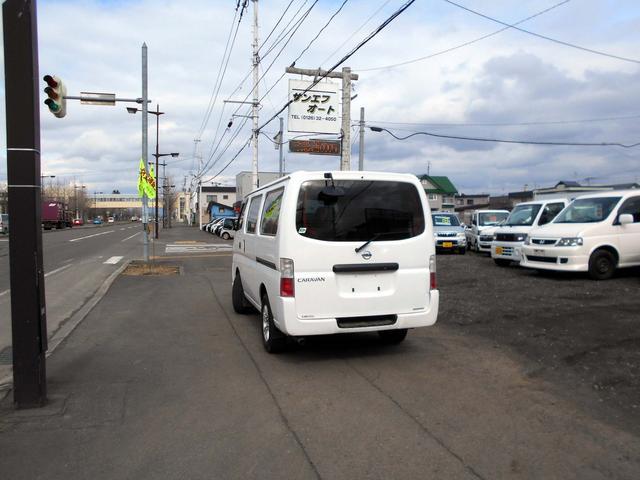 日産 キャラバン 4WD 3.0Dターボ ロングDX リアヒーター 寒冷地仕様