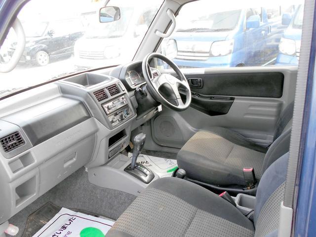 三菱 パジェロミニ 4WD 660XR 背面タイヤ タイミングベルト交換済