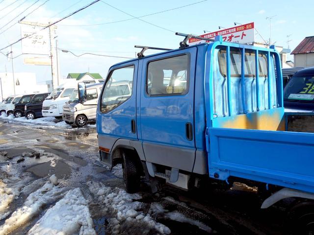 4WD 2.8ディーゼルWキャブロング新品ダイナモ 6人乗り(4枚目)