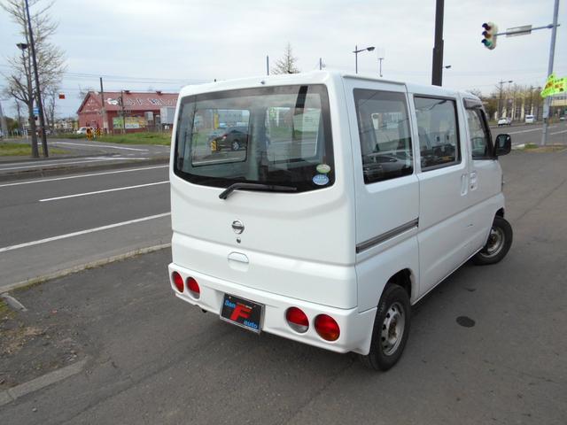 「日産」「クリッパーバン」「軽自動車」「北海道」の中古車6