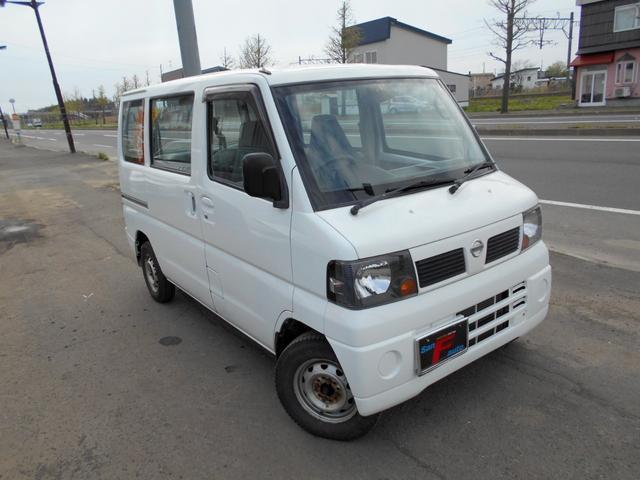 「日産」「クリッパーバン」「軽自動車」「北海道」の中古車10
