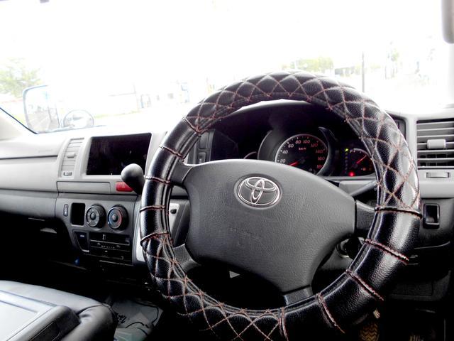 ロングDX 4WD 3.0DT リアヒーター 寒冷地仕様 LEDテール 4型フェイス スポイラー 9人乗り(31枚目)