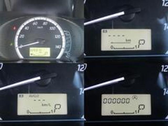 メーターは燃費計も備わっており多機能です!