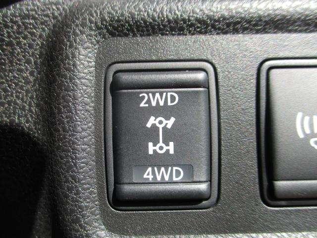 切り替え式の4WDで夏場はFF・冬場は4WDで賢く使えます(^^)