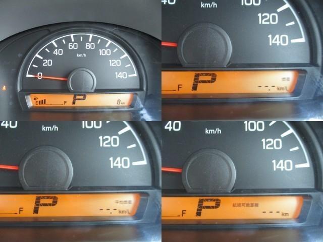 メーターは燃費計も備わった多機能メーターです♪