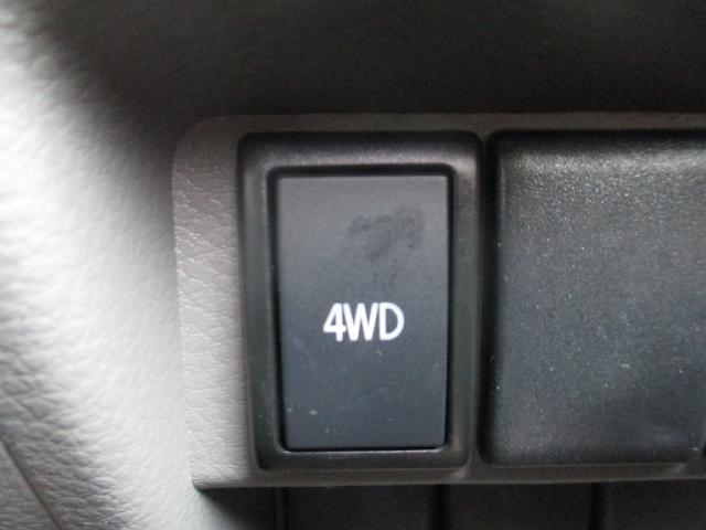 2WD⇔4WDの切り替えはボタン一つで簡単に切り替えが可能です☆