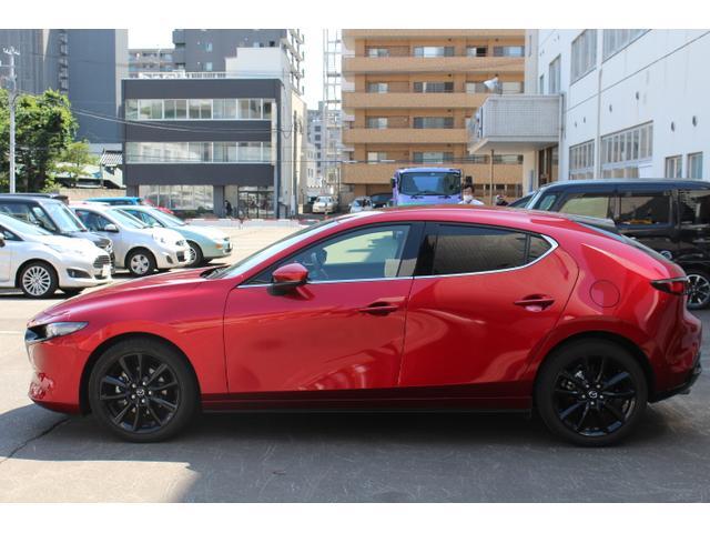 「マツダ」「MAZDA3ファストバック」「コンパクトカー」「北海道」の中古車5