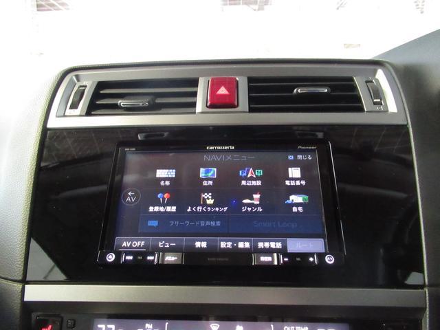 SDカーナビゲーション搭載。フルセグTV、SD+Bluetoothオーディオ等機能は多彩です!
