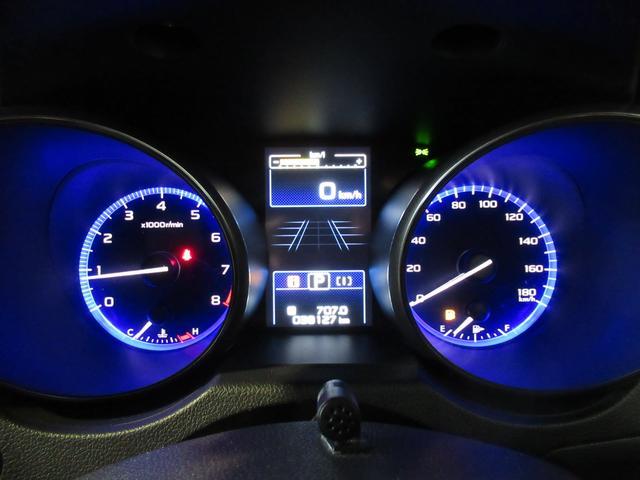 昼間でも見やすい自発光式メーターです。ヘッドライト点灯により明るさをお好みで調整が可能です!