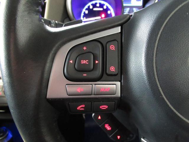 ステアリングオーディオリモコンスイッチ付き!ハンドル内でのオーディオ&ナビ操作に加えハンズフリー通話の発信などの操作も可能になります。